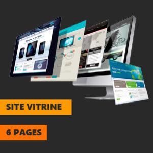 site vitrine 6page